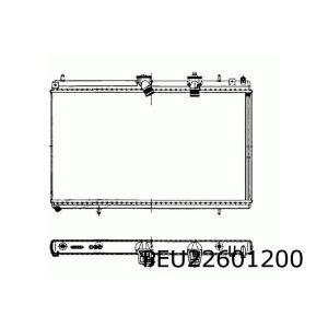 407 5/06- / C6 / C5 II / C5 III (2.2Hdi) Radiateur