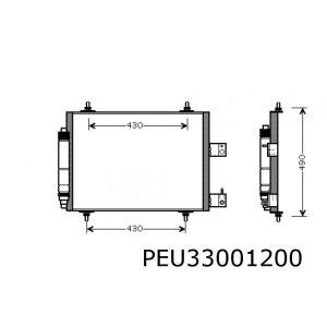 807 / C8 / Ulysse / Phedra (benzine behalve 3.0V6) condensor