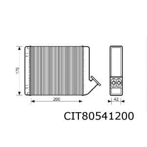 Visa / C15 Kachelradiateur