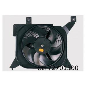 Saxo II / 106 II (benzine)(zonder AC) ventilatorunit