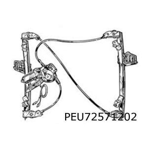 206 (3-Drs.) Raammechaniek R (Elb. Inc. Motor)