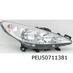 207 koplamp E L