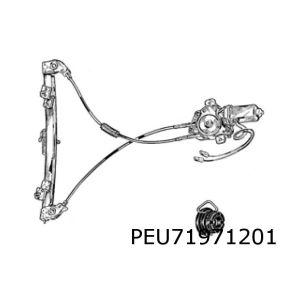 306 (3-Drs.) Raammechaniek L (Elb. Inc. Motor)