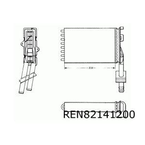 R21 Kachelradiateur