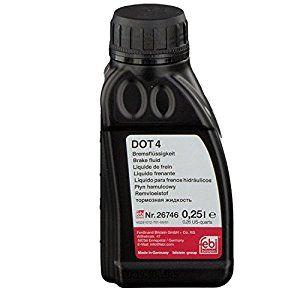 Remvloeistof Dot 4 A 0,25 Liter