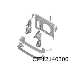 C4 voorbumperbalk (aluminium)