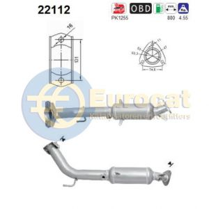 Civic (2.0 147kW 200PK) 09/01- katalysator
