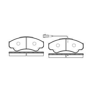 Jumper / Boxer 1800Kg (2.0I/2.2Hdi/2.8Hdi) Remblokset Voorzijde