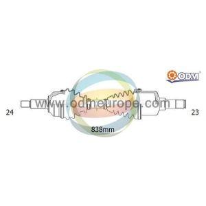 C1 / 107 / 108 (1.0) Aandrijfas rechts