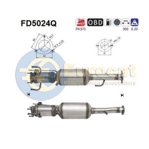 147 / GT (1.9JTD 16V) 11/03- roetfilter silicon