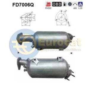 A4 / A6 (1.9TDi/2.0TDiF) roetfilter SILICON