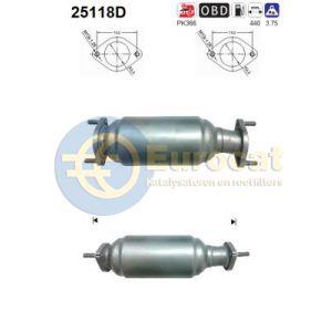 Kia Carnival / Sedona 3/06- (2.9TD CRDi) katalysator