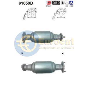 Terracan (2.9CRDi) 03/04- katalysator