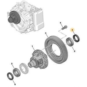 XM (ES9J4) Askeering (automaat)