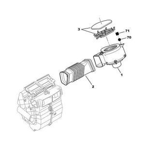 106/Saxo Kachelmotor (3 St. Org )