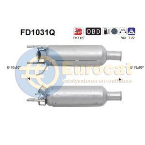 C-Crosser / Outlander II / 4007 (2.2HDi) 05/10- roetfilter silicon (e5)