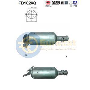 Interstar / Master II / Movano (2.5DCi) 08/06-  roetfilter silicon