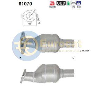 i20 (1.2i) 10/14- katalysator achterzijde