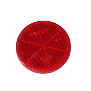 Reflector Rood Rond [6Cm]