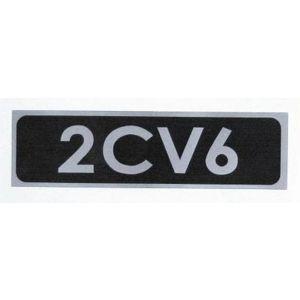 2CV6 embleem