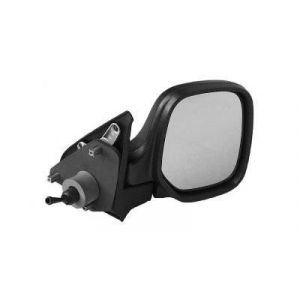 Berlingo/Partner I/II spiegel R hevelbediend (zwart)