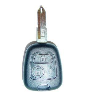 sleutelhuis: 2-knops punt met gat (Peugeot)