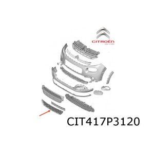 C3 voorbumpergrille onder