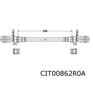 C1 / 107 Remslang Achterzijde