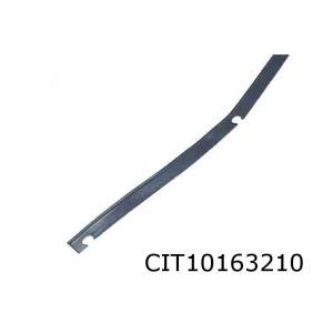 2CV Achterscherm Plastic Strip Zwart