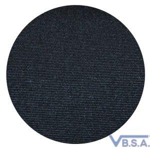 2CV dak katoen (buitensluiting) lang model zwart normale achterruit