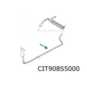 C1 / 107 (1.0I) Tussenpijp