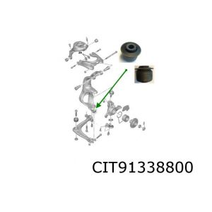 C5 / 407 Fuseesteun Reparatie Silentbloc