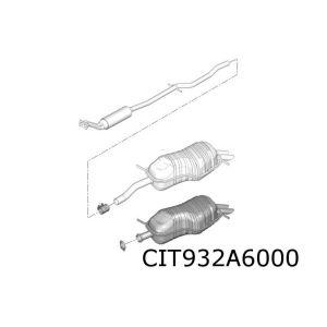 C5 (3.0i-V6) achterdemper