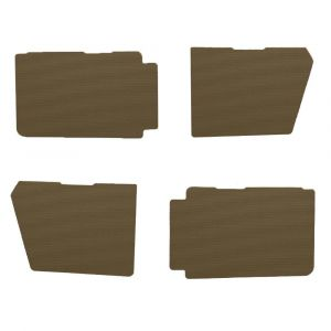 2CV deurpanelen klein model bruin (aere marron)