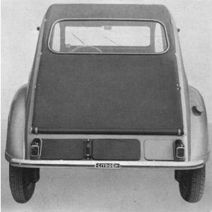 2CV -64 achterpaneel (oud model)