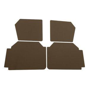 2CV deurpanelen hoog model bruin (aere marron)