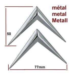 Citroen universeel chevron (metaal)