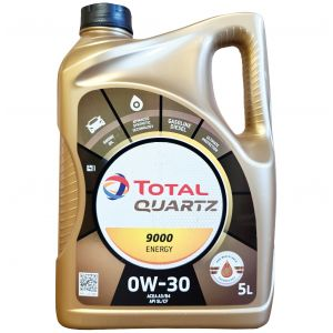 0W30 5L Quartz 9000 Motorolie Total