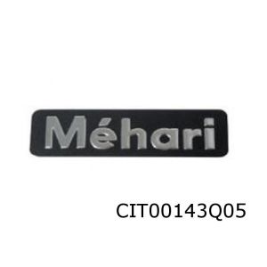 Mehari Achterklep Logo