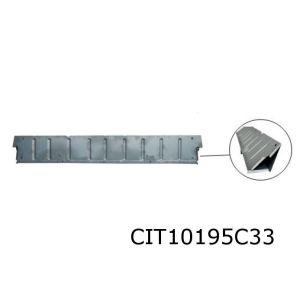 2CV 70- Voetenbak Reparatiedeel Half Hoog Electrolyse