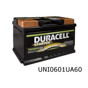 Accu 60Ah Duracell