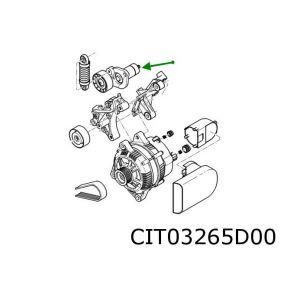Psa (3.0I-V6 24V Esj) Spanrol Multiriem
