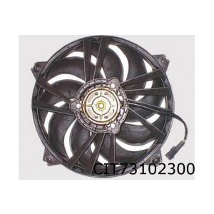 C5 II (2.0HDi / 2.2HDi) / 406 / 607 / Xsara Picasso (1.6) (+AC) ventilator (bij enkele ventilator)