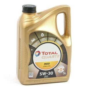 5W30 5L Ineo Longlife Quartz 9000 Motorolie Total (Vag)