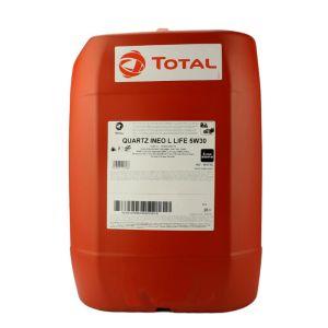 5W30 20L Ineo Longlife Quartz 9000 Motorolie Total (Vag)
