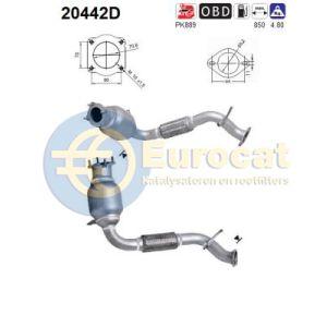 Transit/BT-50 (2.2TDCi) 04/06- katalysator