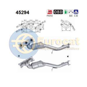 325i / 330i (3.0i) 03/10- katalysator voorzijde