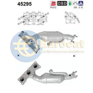 325i / 330i (3.0i) 03/10- katalysator achterzijde