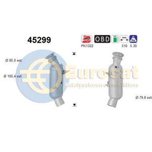 535i / 640i / 740i / X5 (3.0i) -07/13 katalysator