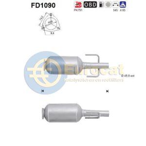 Astra H (1.3CDTi) 04/05- roetfilter cordieriet